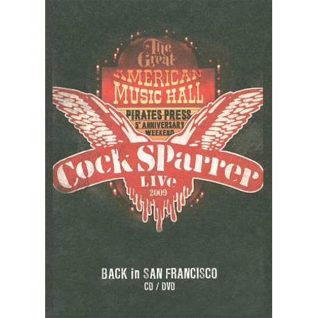 Live - Back In San Francisco 2009 CD + DVD
