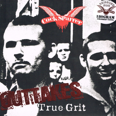 True Grit Outtakes LP (red/white/black vinyl)