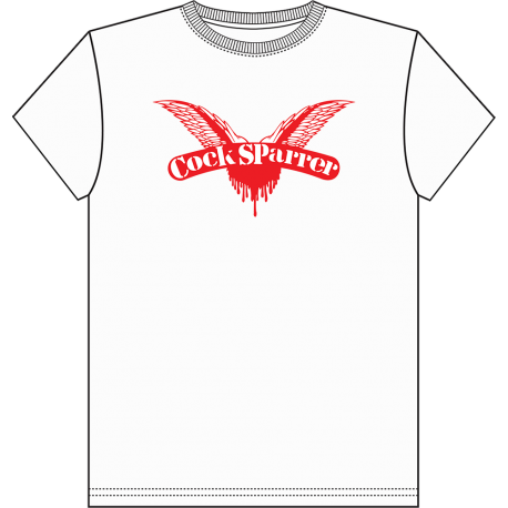 Childrens logo (red on white) t-shirt