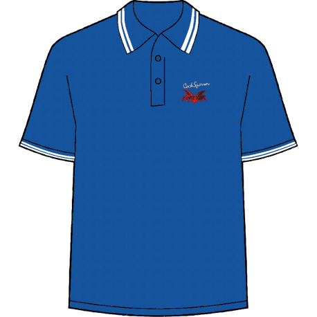 Forever blue polo shirt
