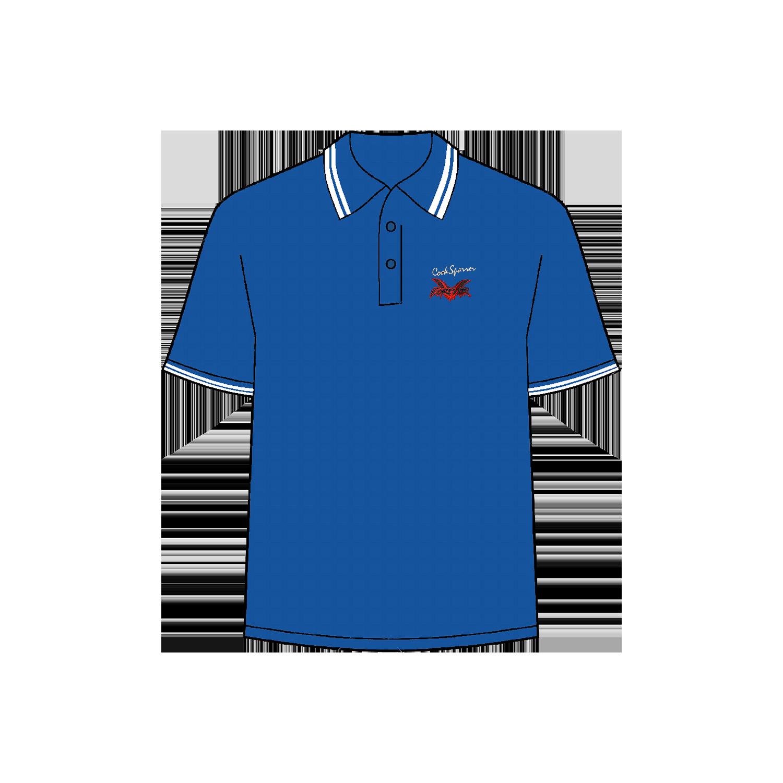 Forever blue polo shirt