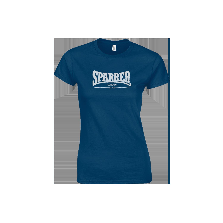 Sparrer London navy womens t-shirt