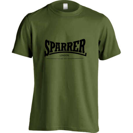 Sparrer London (black on green) t-shirt