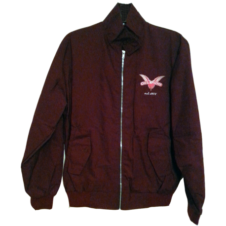 Harrington jacket - claret
