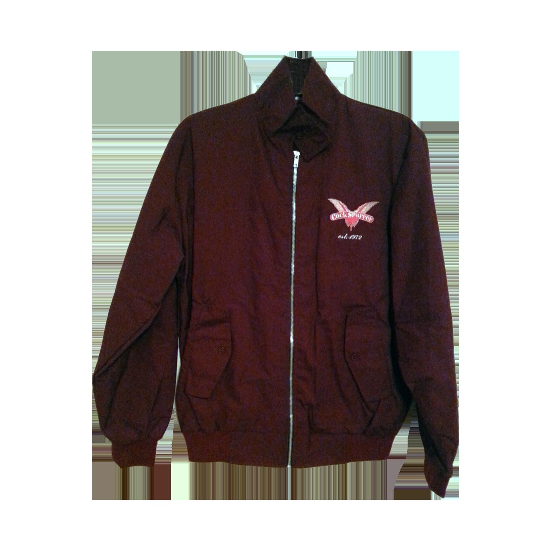 Harrington jacket - claret