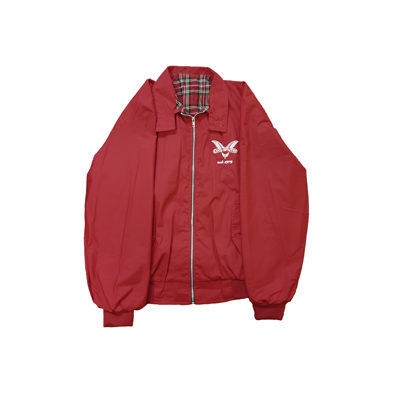 Harrington jacket - red