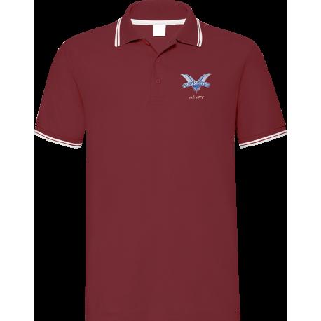 Blue 1972 claret polo shirt