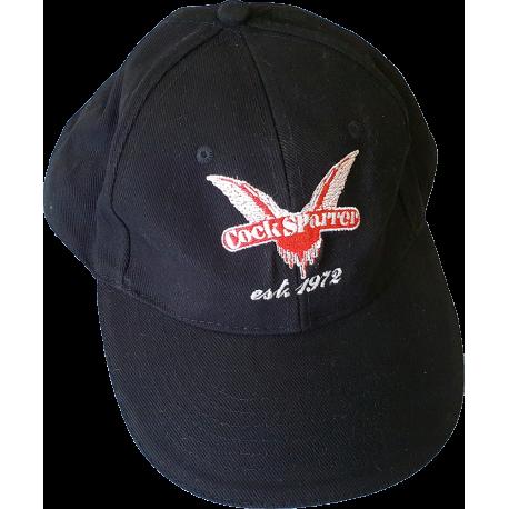 1972 (red on black) cap