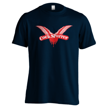 Logo (red on navy) t-shirt