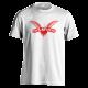 Logo (red on white) t-shirt