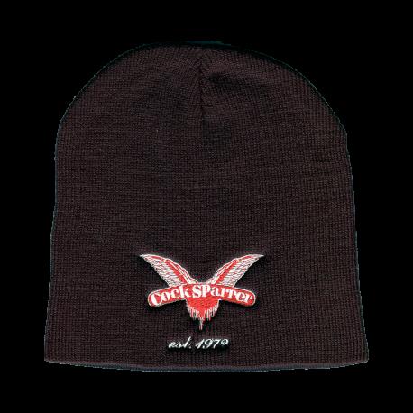 Logo 1972 black beanie hat