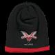 Logo 1972 black/red beanie hat