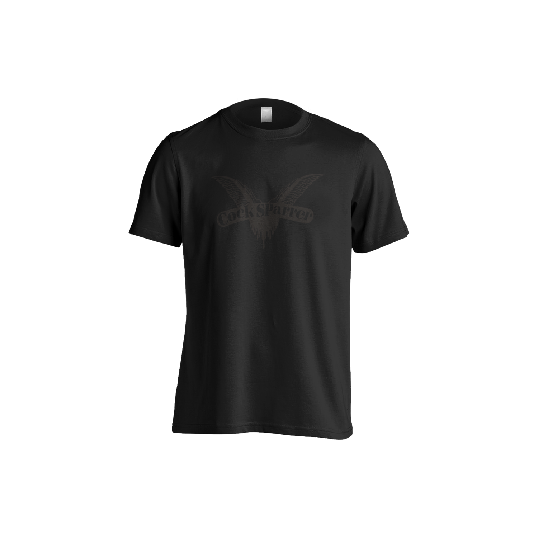 Logo (black on black) t-shirt